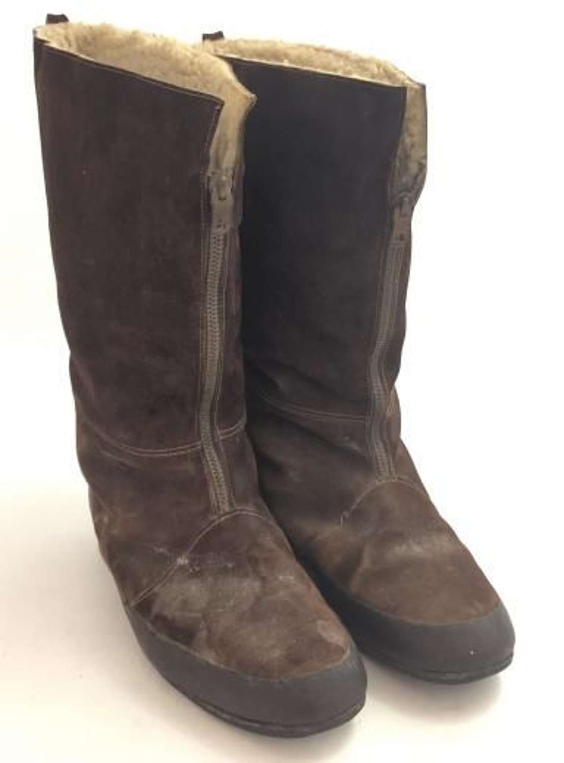 Original 1940 Pattern RAF Flying Boots - Size 9
