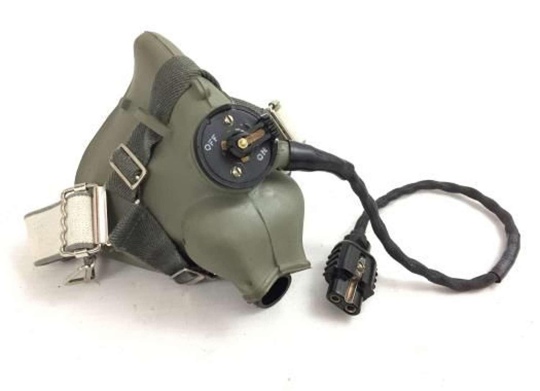 Original RAF H-Type Oxygen Mask Dated 1967 - Size Medium