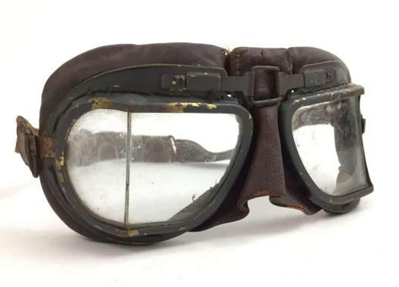 Original RAF MK VIII Flying Goggles - Air Ministry Marked