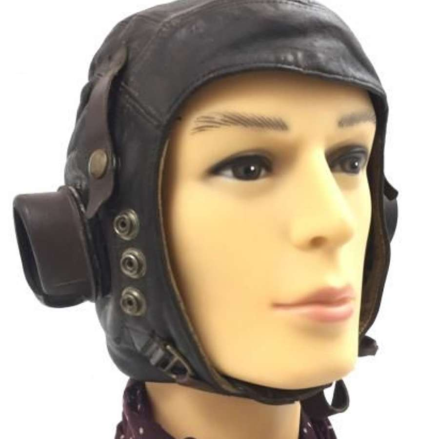 Original First Pattern RAF C Type Flying Helmet