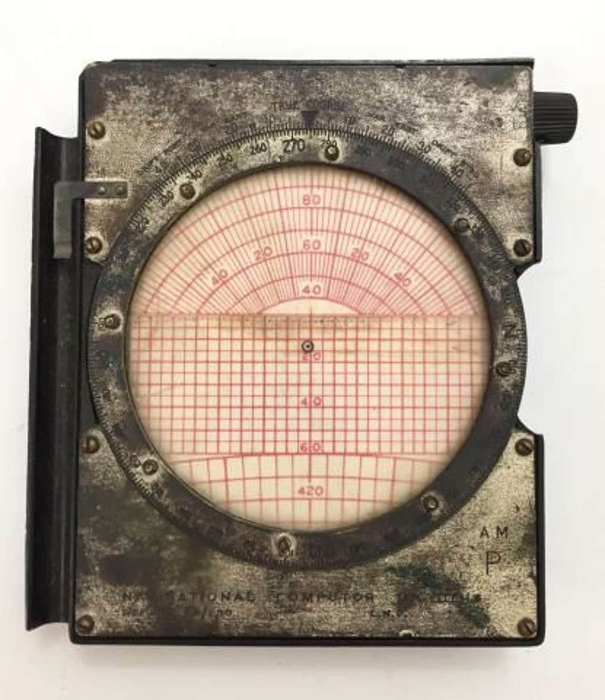 Original RAF MKIII H* ICAN Navigational Computer