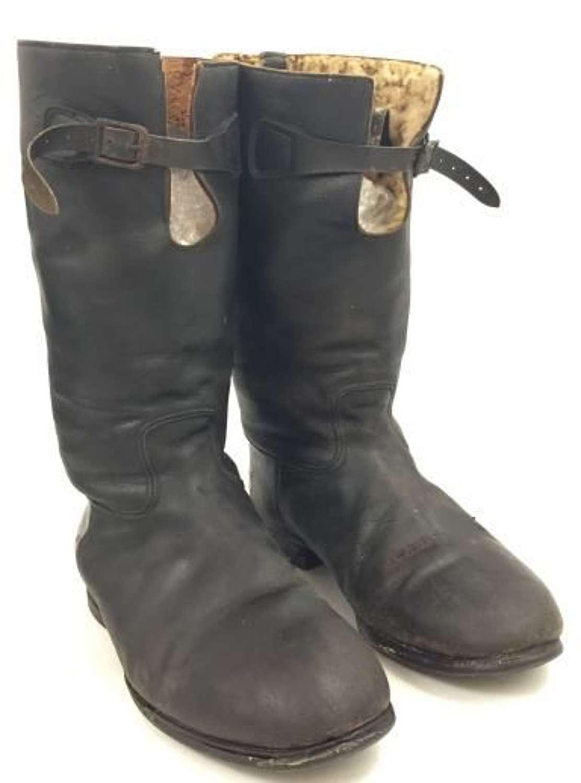 Scarce Original RAAF 'Bedggood' 1936 Pattern Flying Boots