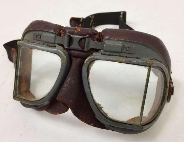 Original WW2 RAF MK VIII Goggles - Air Ministry Marked
