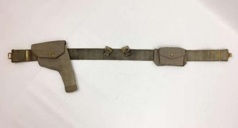 RAF 1937 Pattern Webbing Pistol Belt - large size