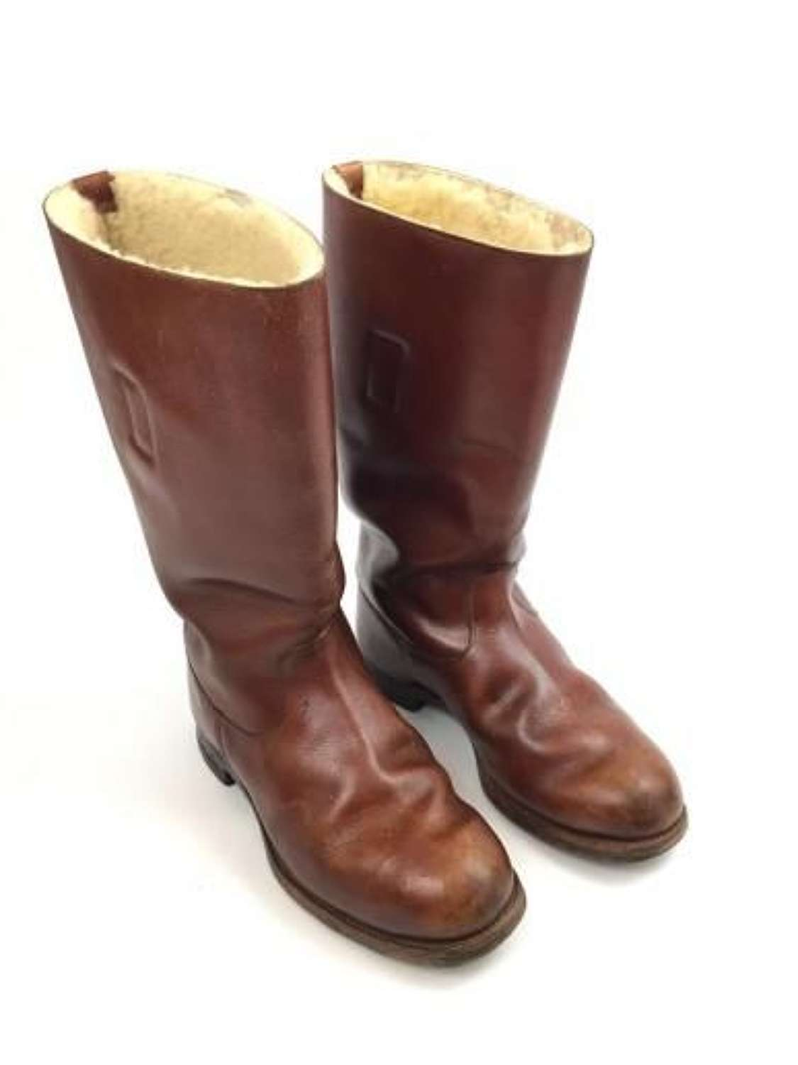 Super RARE Brown Private Purchase 1936 Pattern Flying boots by 'Imperator'.