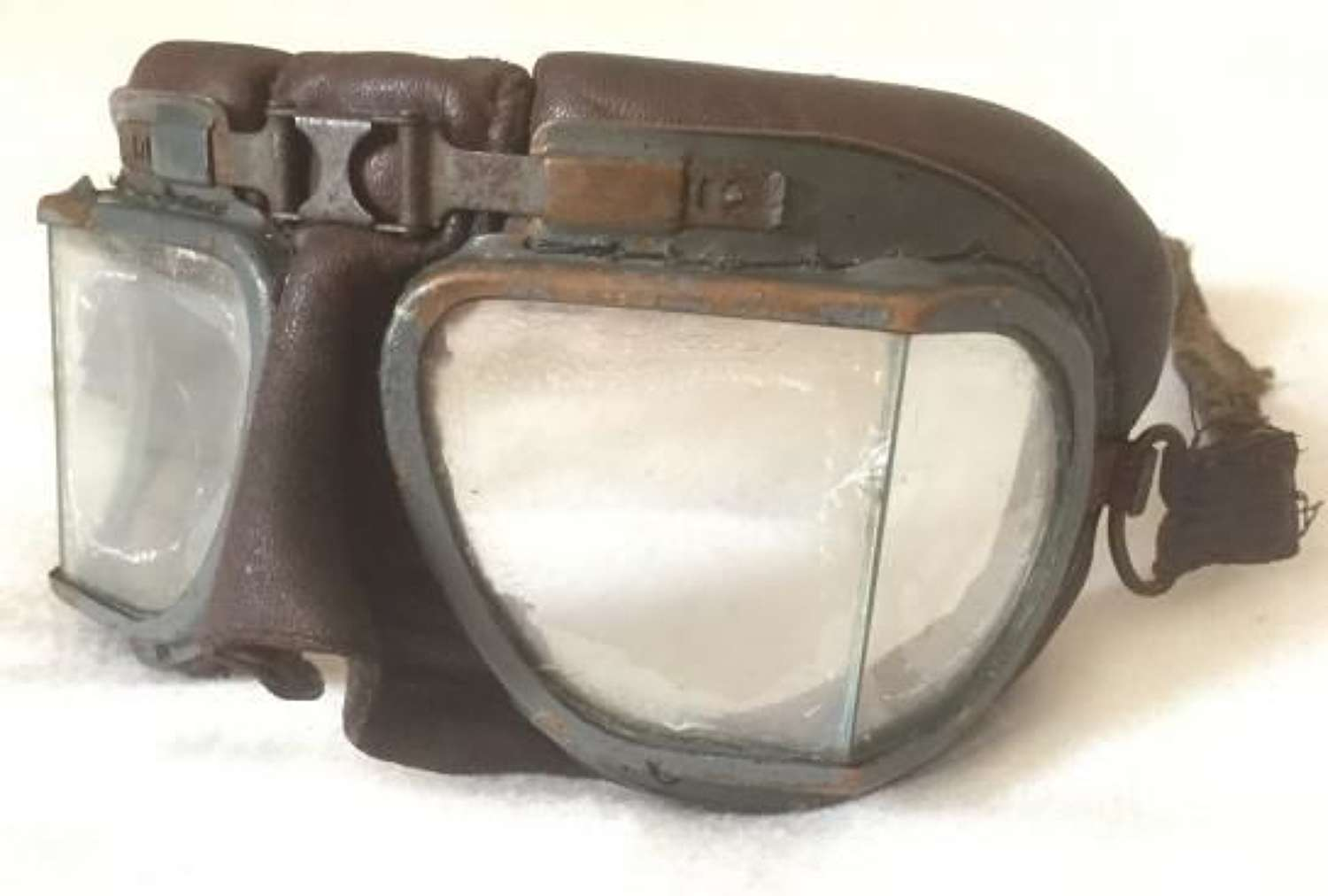 Original RAF MK VIII Flying Goggles With 22C Air Ministry Stamp