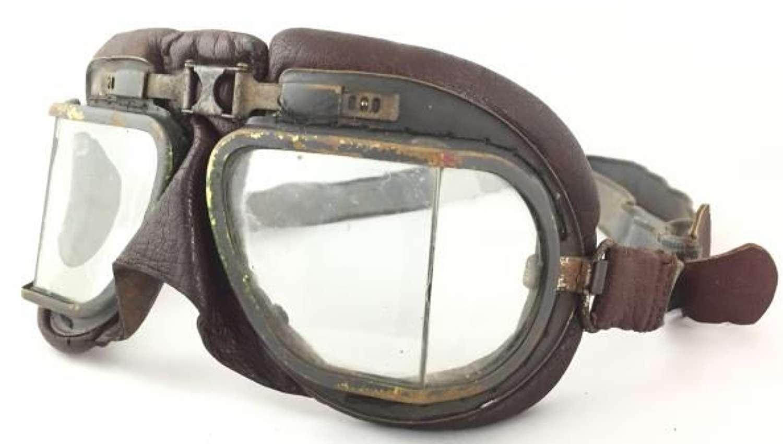 Original WW2 Era RAF MK VIII Flying Goggles