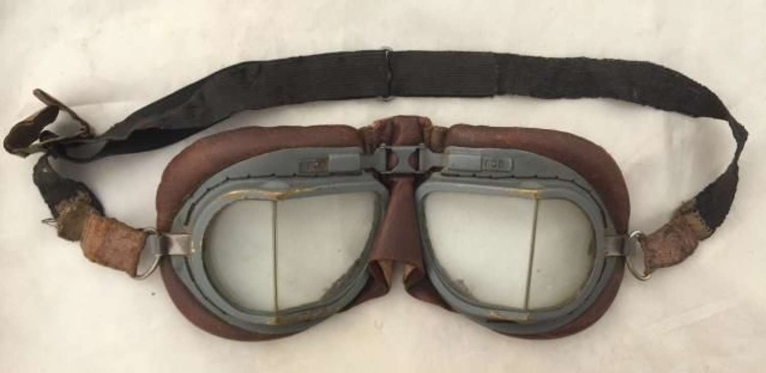 Original RAF MK VIII Flying Goggles