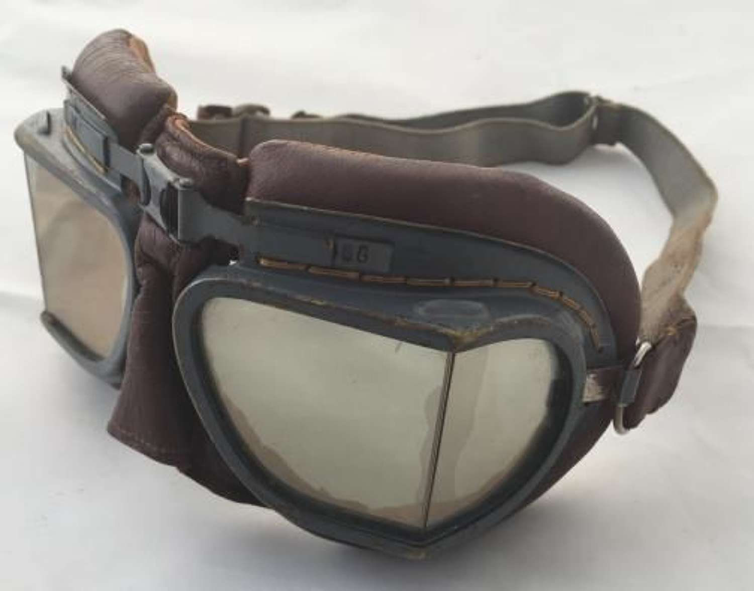 Outstanding RAF MK VIII Flying Goggles - Air Ministry Marked