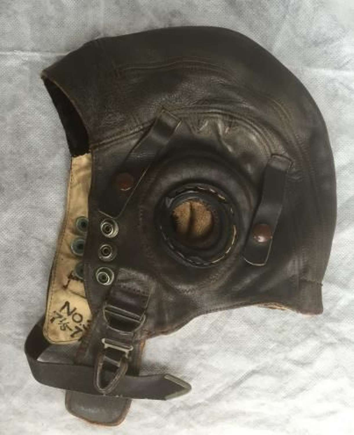 RAF First Pattern C-Type Flying Helmet Size 3