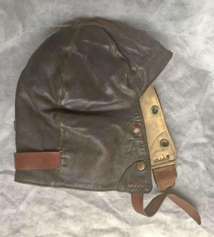 Original 1940 Dated B-Type Flying Helmet