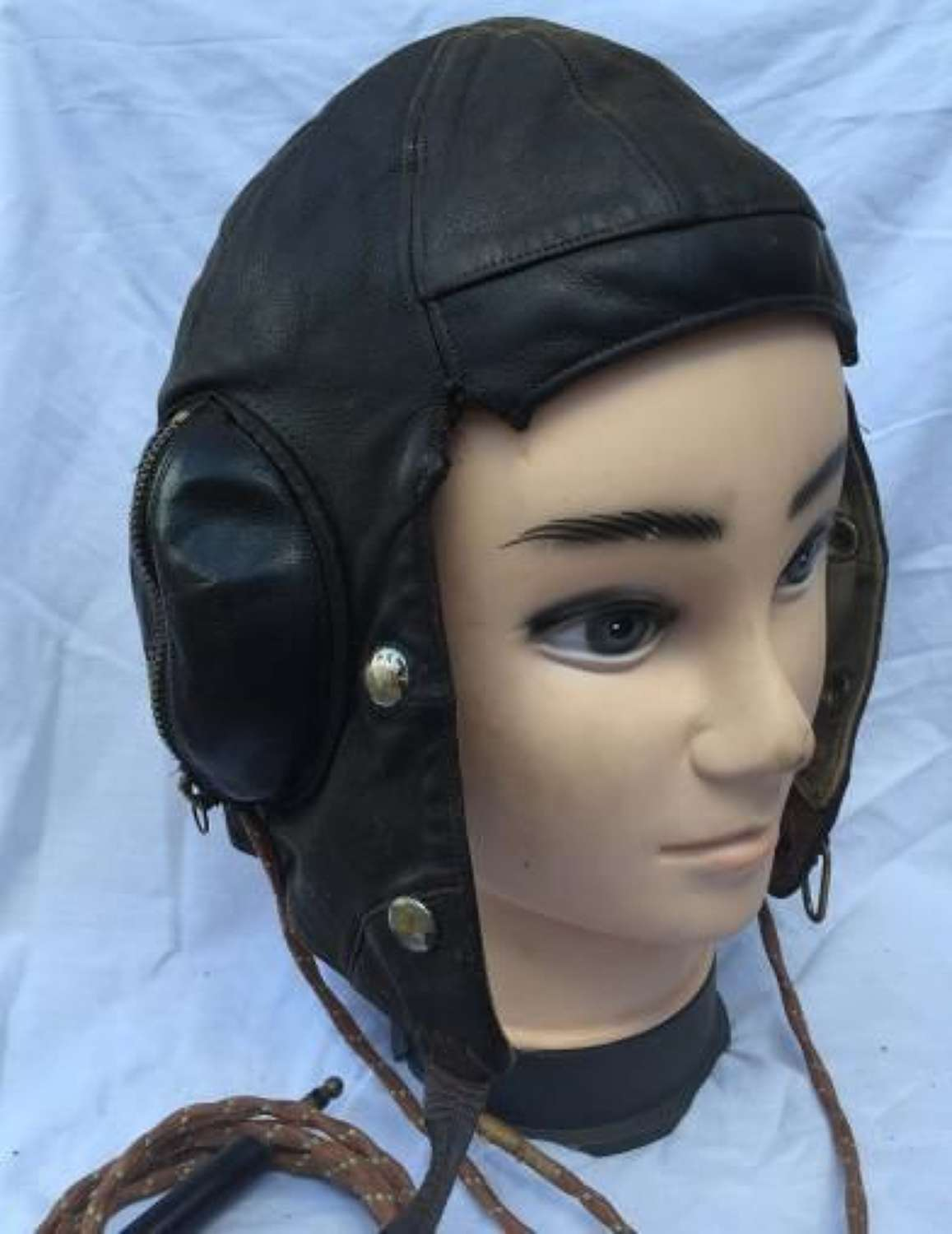 Battle Of Britain Period RAF B-Type Flying Helmet
