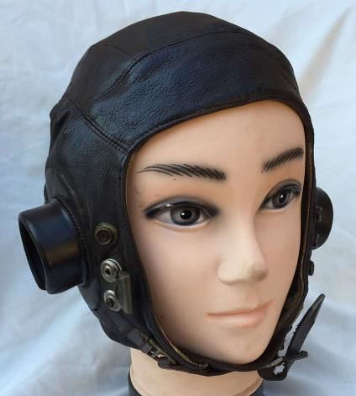 First Pattern RAF C-Type Flying Helmet - Large Size 4