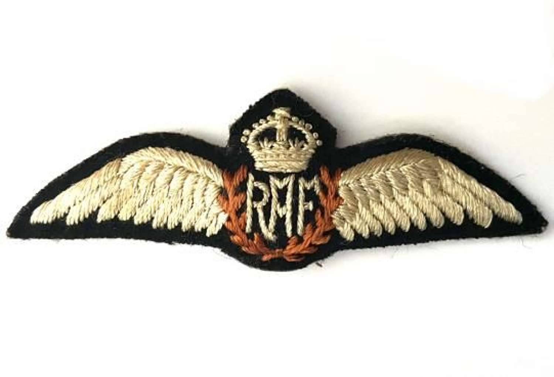 Original WW2 RAF Pilots Padded Wing