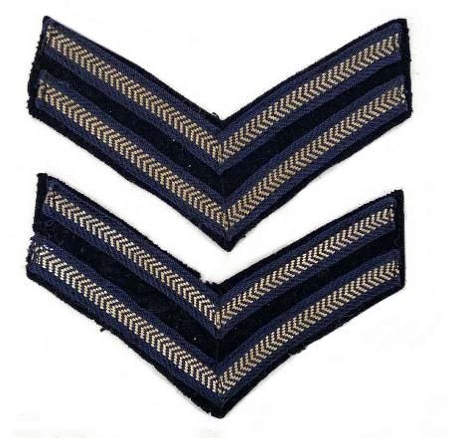 Original WW2 RAF Corporal Stripes