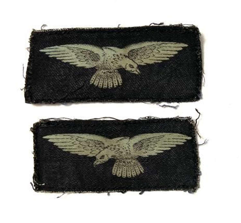 Original WW2 RAF Printed Albatross Sleeve Insignia