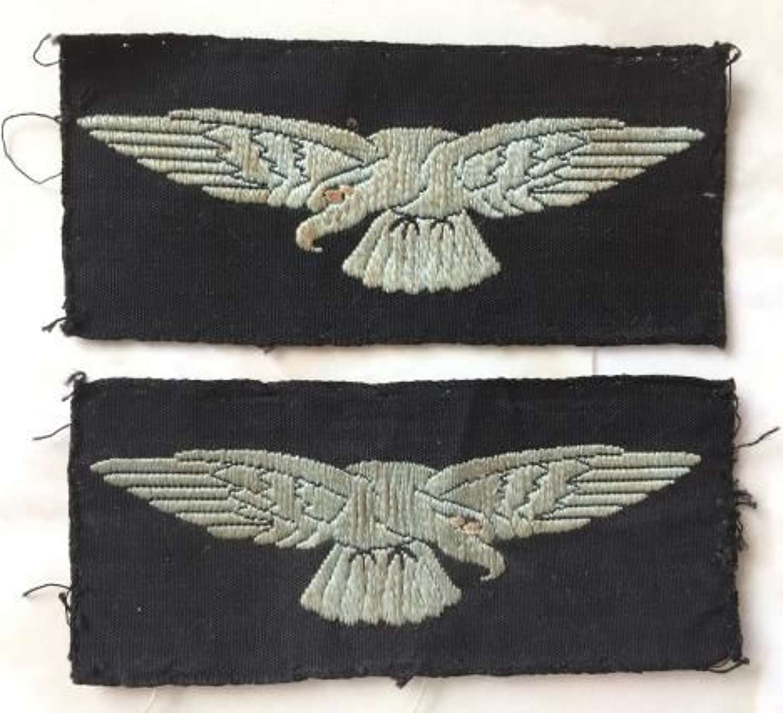 Original WW2 Albatross Sleeve Insignia - Semi Embroidered