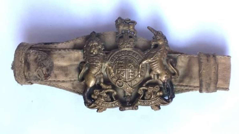 Original WW2 RAF Warrant Officers Tropical Rank bracelet