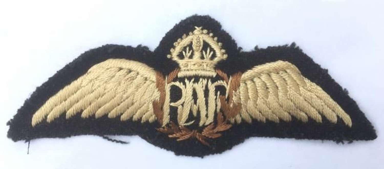 Pre WW2 Padded RAF Pilots Wings