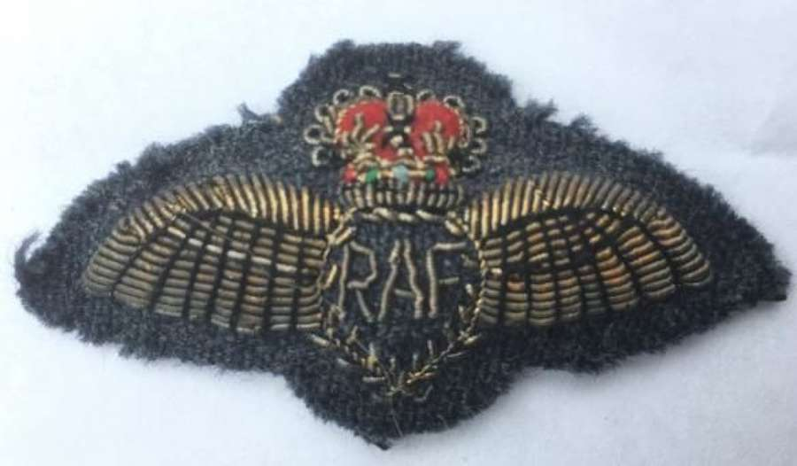 Post 1953 RAF Pilots Mess dress Bullion Wing