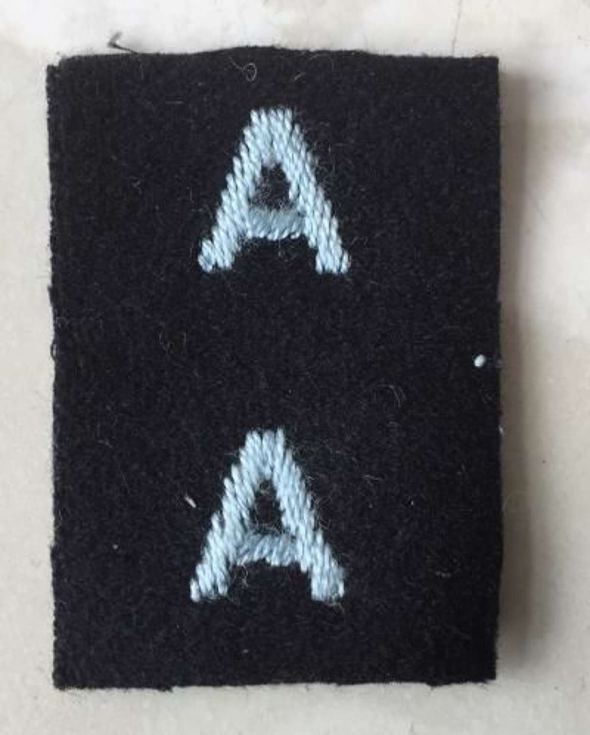 Original WW2 Period Matched Pair of Royal Auxiliary Reserve Sleeve Badges