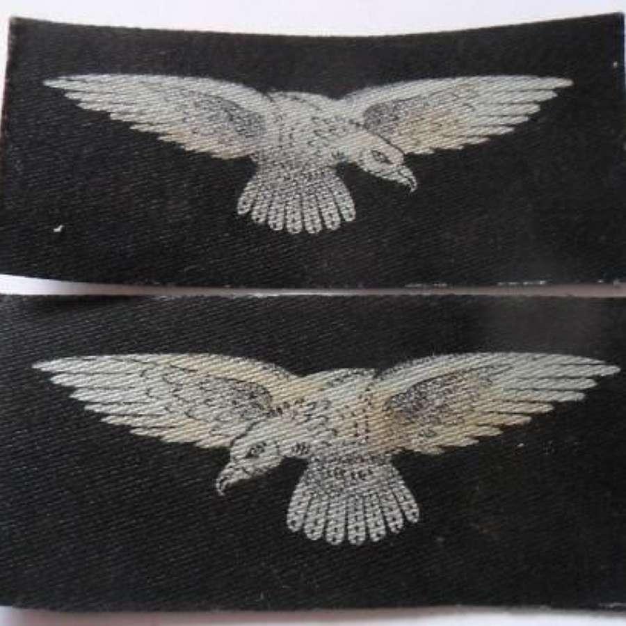 Original WW2 Printed RAF Sleeve Insignia - Un-issued