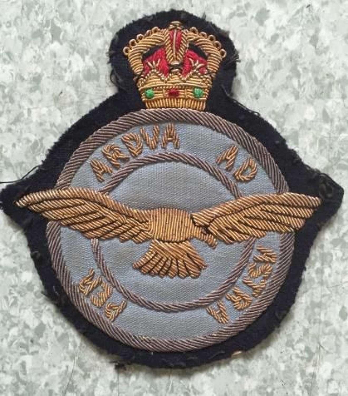 A Pre-1952 RAF Bullion Breast Badge