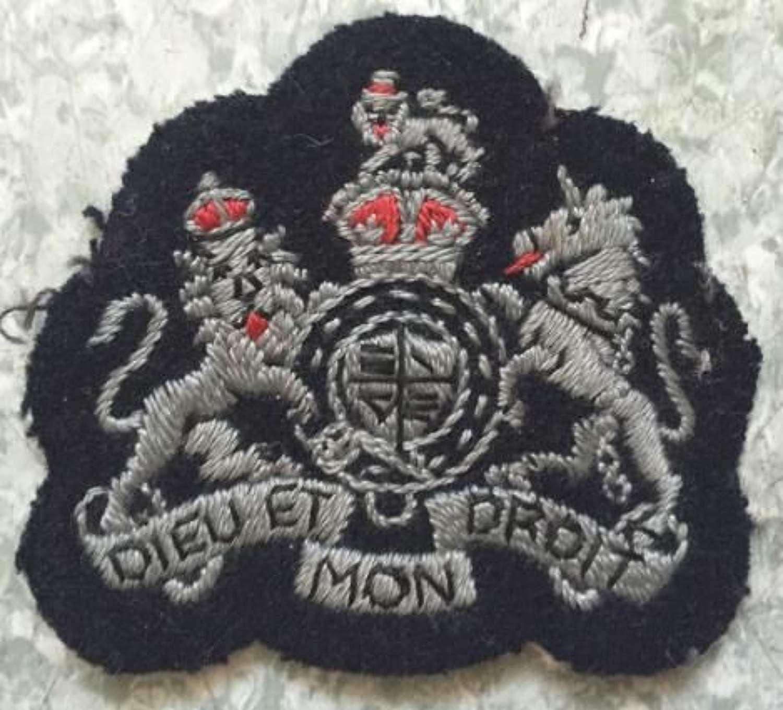 Original WW2 RAF Warrent Officers Rank Badge