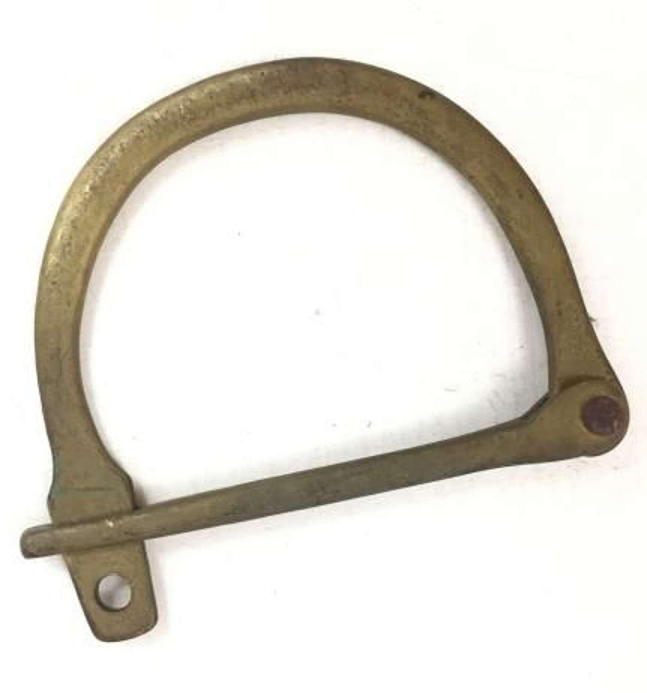 Original WW2 RAF Brass RAF Kit Bag Lock