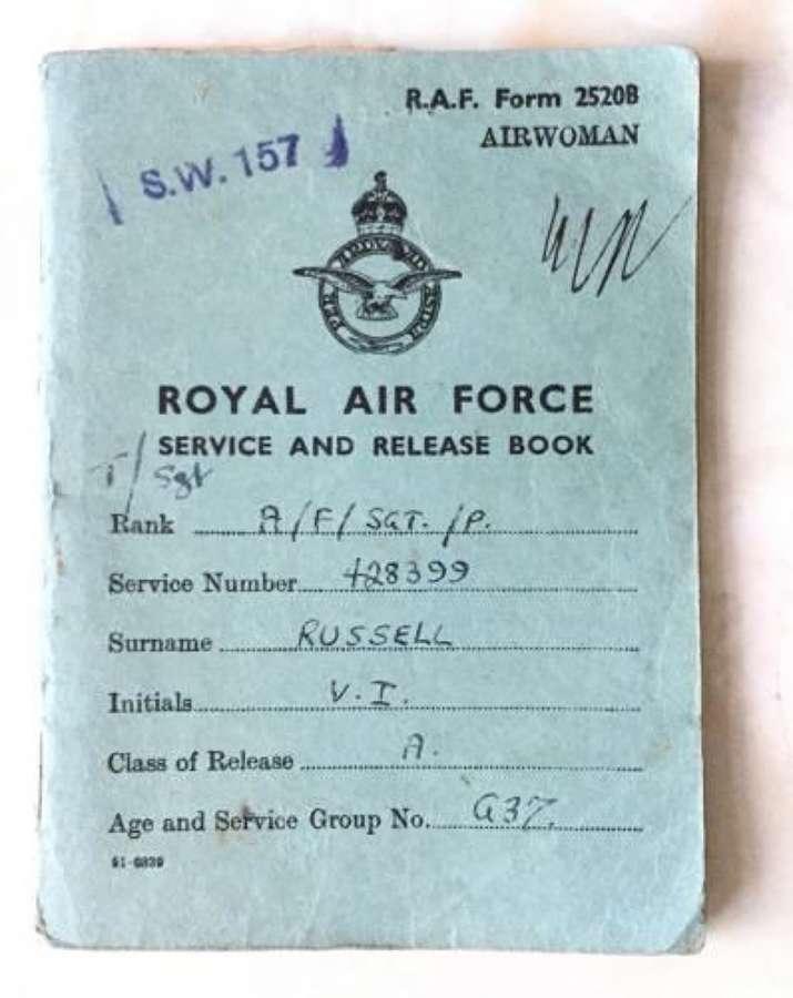 Original WW2 WAAF Pay Book