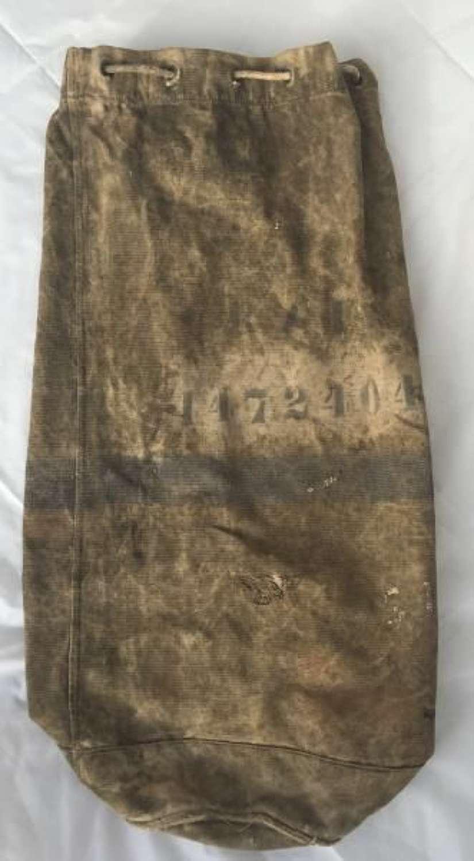 1940 Dated RAF kit bag