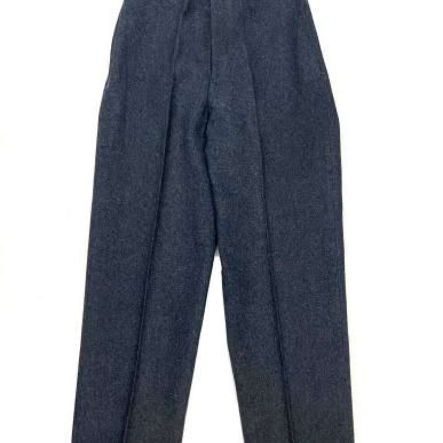 Original 1951 Dated RAF Ordinary Airman's Trousers - Size 17