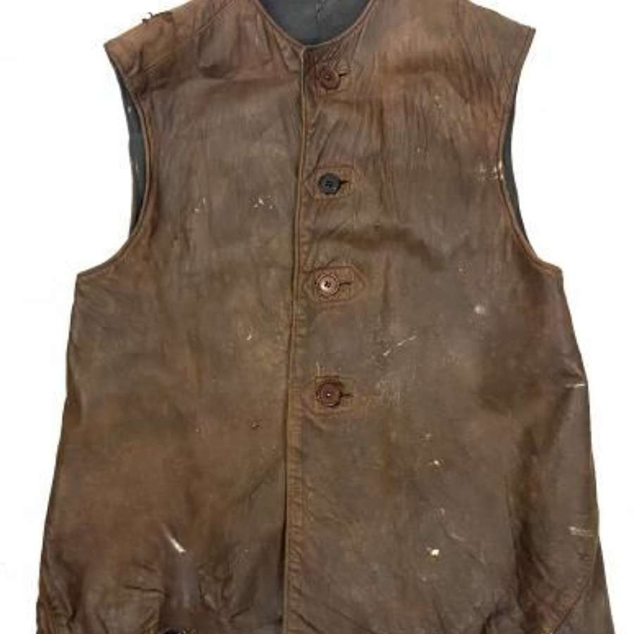 Original 1940s RAF Leather Jerkin