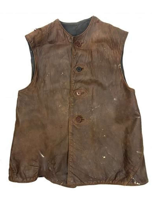 Original 1940s RAF Leather Jerkin