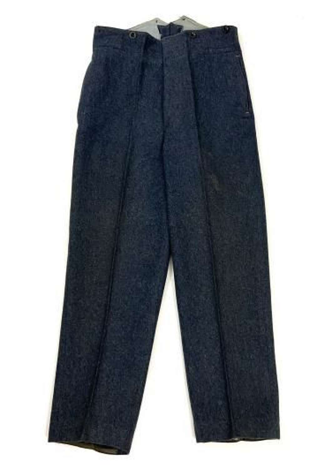 Original 1950 Dated RAF Ordinary Airman's Trousers - Size No. 11