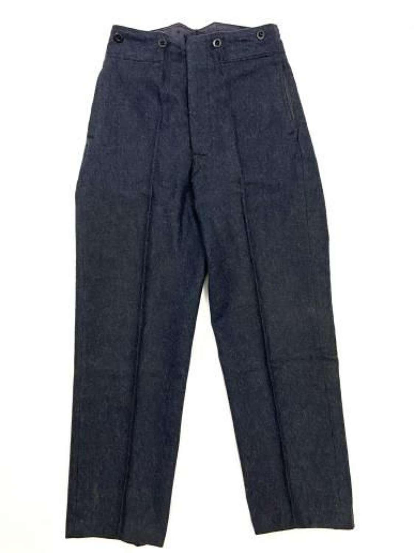Original 1946 Dated RAF Ordinary Airman's Trousers