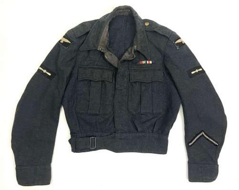 Original 1945 Dated RAF War Service Dress Blouse - 2 TAF