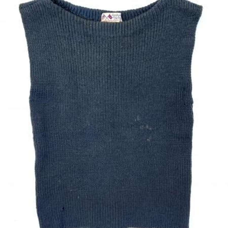 Original WW2 RAF British War Relief Society Sleeveless Wool Pullover