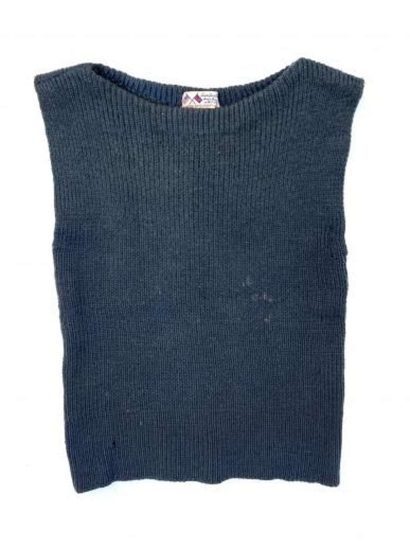 Original WW2 RAF British War Relief Society Sleeveless Wool Pullover