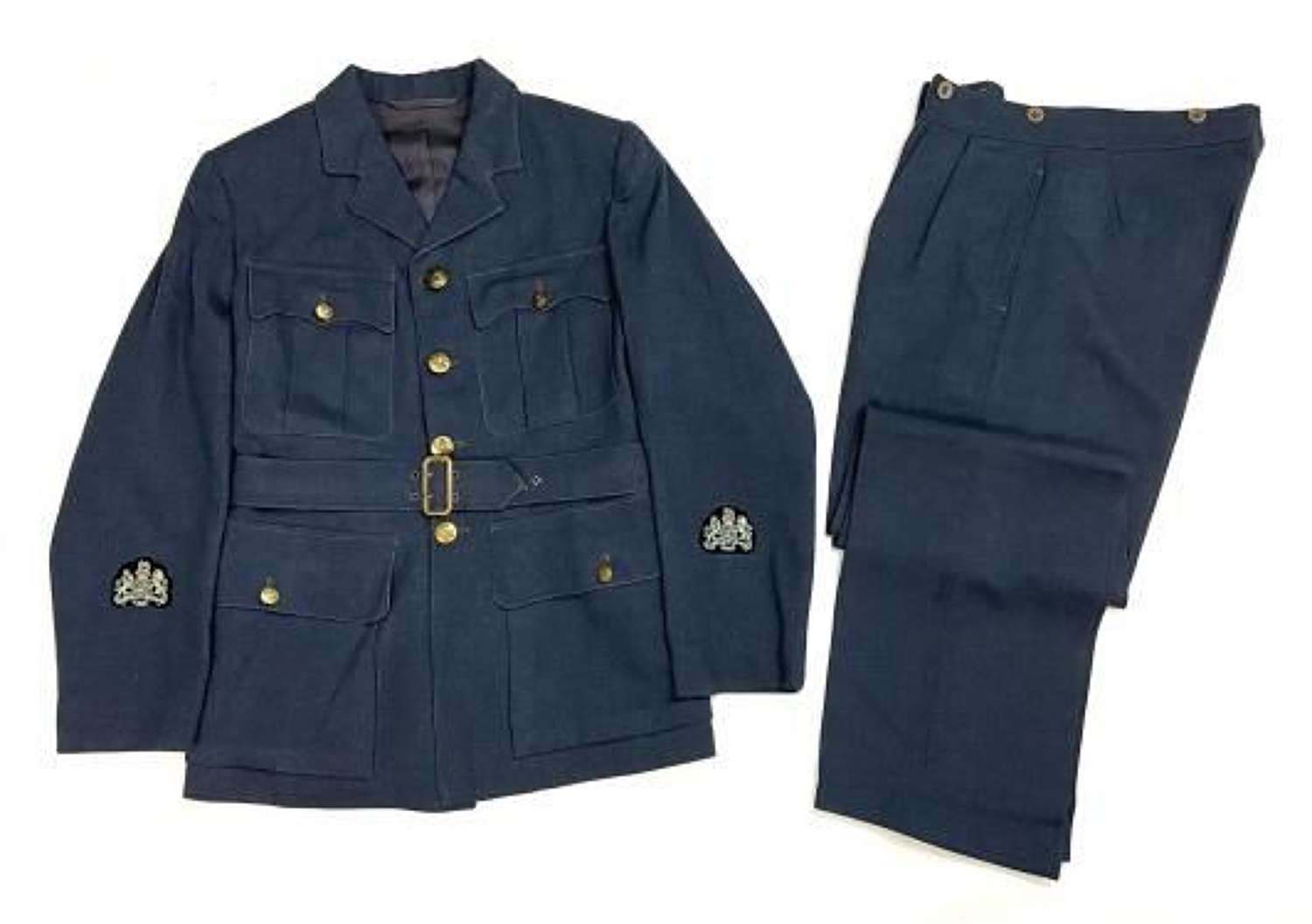 Original 1944 Dated RAF WO Service Dress Jacket and Trousers