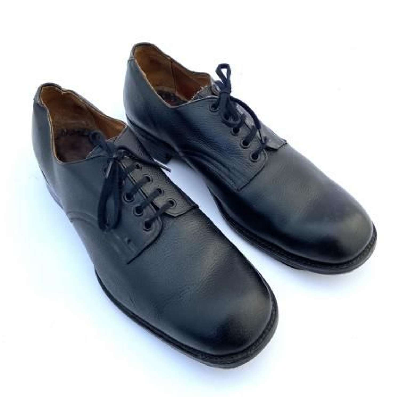 Scarce Original 1944 Dated RAF Ordinary Airman's Black Shoes - Size 11