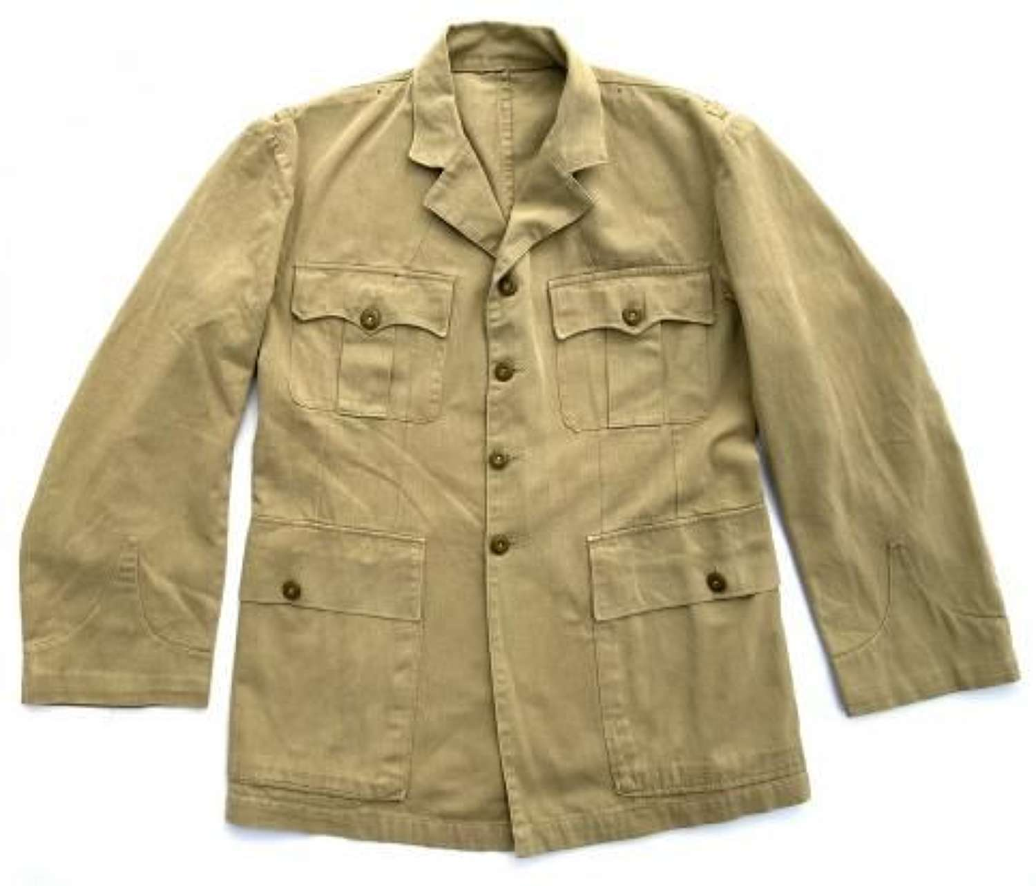 Original 1940s British Officers RAF Style Khaki Drill Tunic
