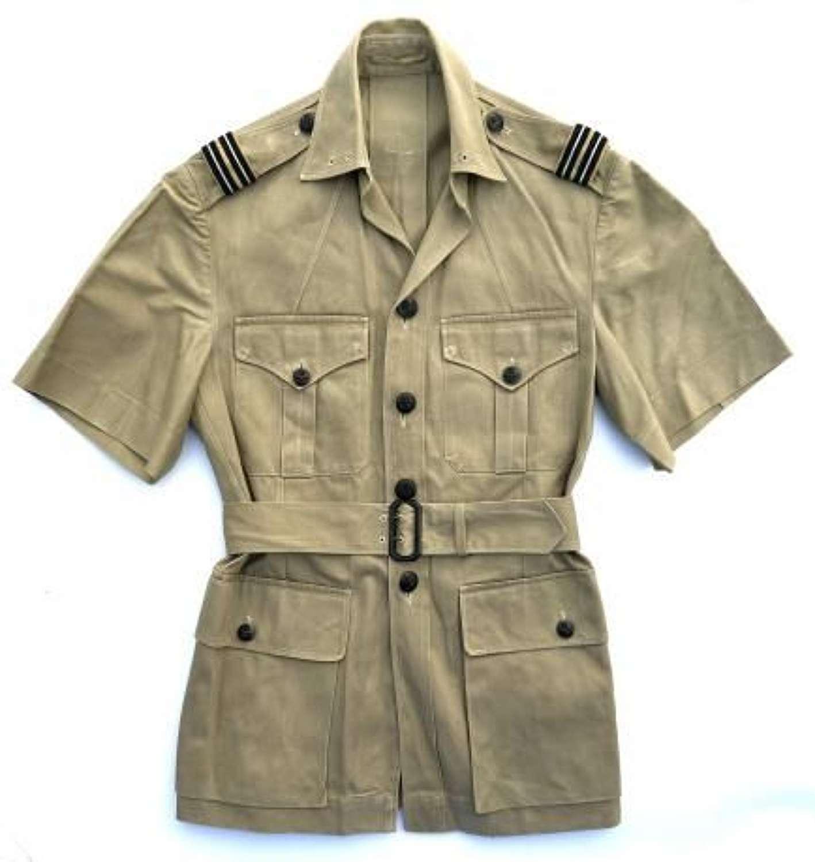 Original 1940s RAF Officers Khaki Drill Tunic