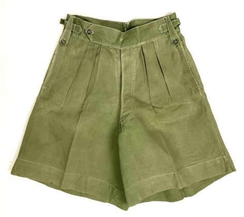 Original WW2 Jungle Green Shorts