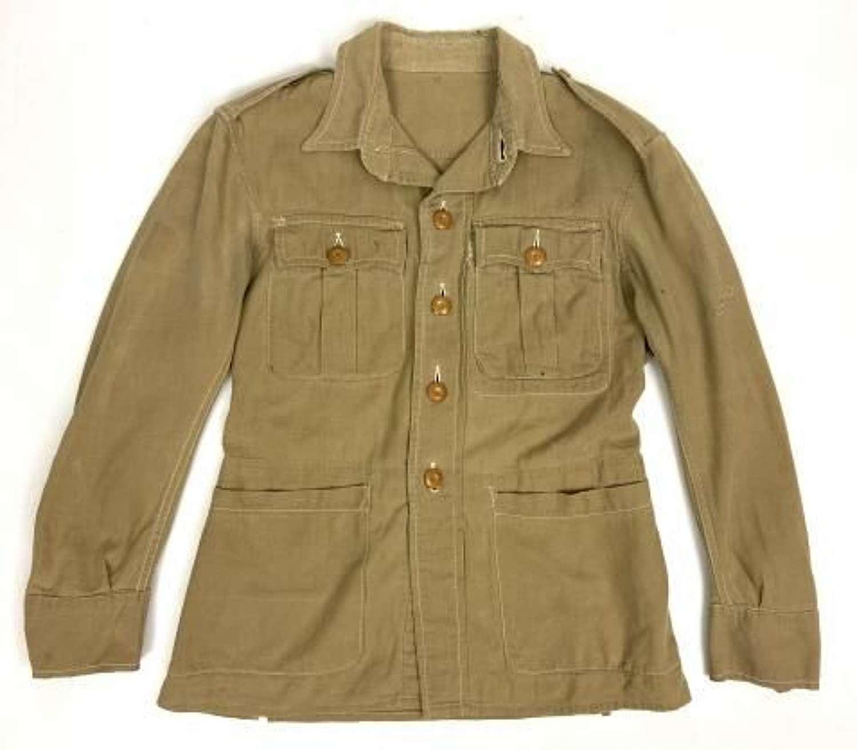 Original 1948 Dated RAF Khaki Drill Bush Jacket - Size 2