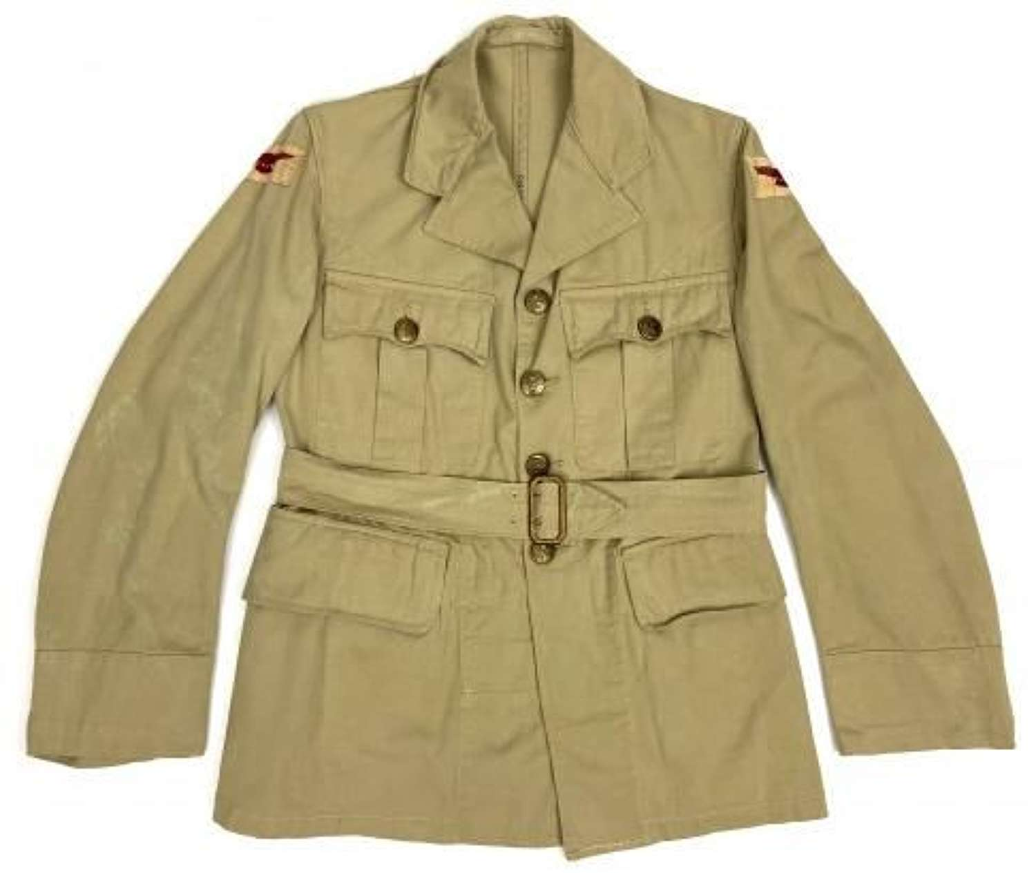 Original 1942 Dated Royal Canadian Air Force Khaki Drill Tunic - Size 9