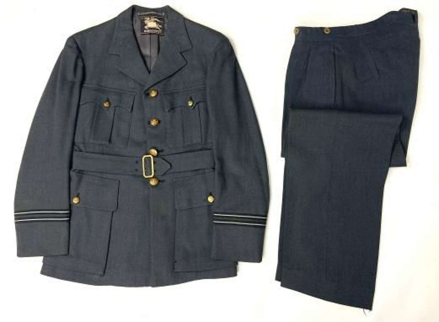 Original WW2 RAF Officers Service Dress Unifrom by 'Burberry's'