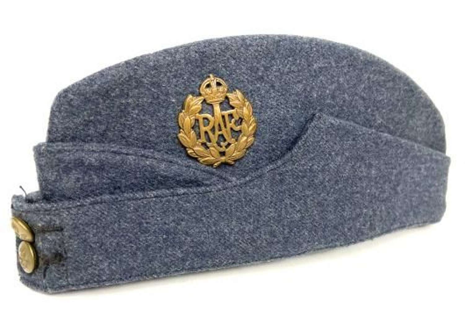 Original 1942 Dated RAF Ordinary Airman's Forage Cap - Size 6 7/8