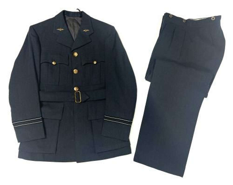 Original 1940s CC41 RAF Officers Service Dress Uniform by 'Burton'