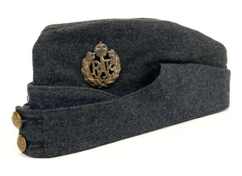 Original 1945 Dated RAF Ordinary Airman's Forage Cap - size 7 1/8
